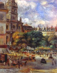 Pierre-Auguste Renoir - Church of the Holy Trinity in Paris