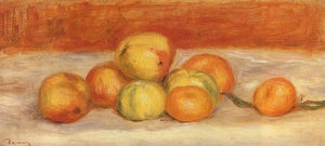 Pierre-Auguste Renoir - Apples and Manderines