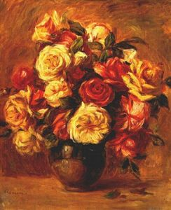 Pierre-Auguste Renoir - Bouquet of Roses