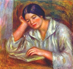 Pierre-Auguste Renoir - Woman in white