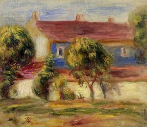 Pierre-Auguste Renoir - The Artist s House