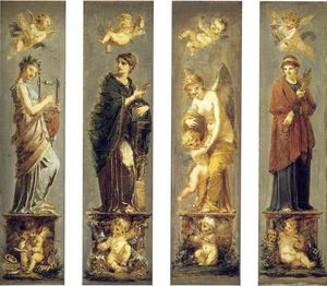 Pierre-Paul Prud'hon - Arts, Wealth, Pleasure and Philosophy