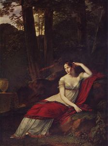 Pierre-Paul Prud-hon - Portrait of the Empress Josephine