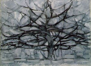 Piet Mondrian - The Gray Tree
