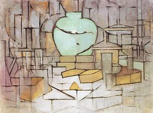Piet Mondrian - Still Life with Gingerpot 2