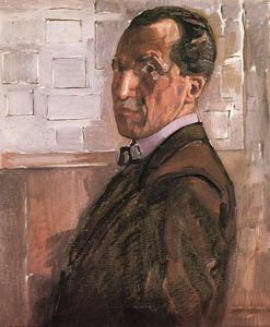 Piet Mondrian - Self Portrait