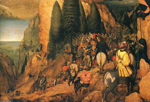 Pieter Bruegel The Elder - Conversion of St. Paul