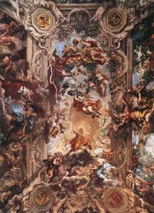 Pietro Da Cortona - Allegory of Divine Providence and Barberini Power