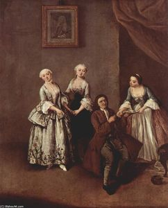 Pietro Longhi - The Family