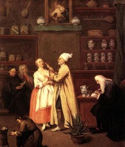 Pietro Longhi - The Pharmacist