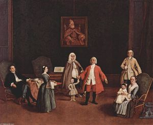 Pietro Longhi - The Venetian Family