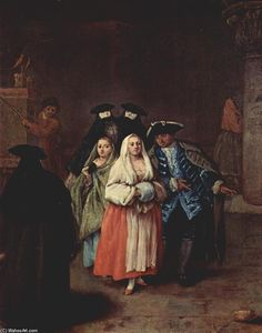 Pietro Longhi - The `New World-