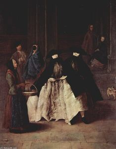 Pietro Longhi - The Perfume Seller