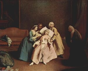 Pietro Longhi - The Wet-Nurse