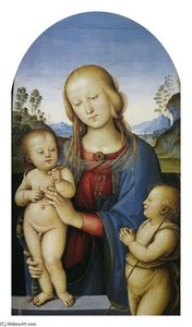 Vannucci Pietro (Le Perugin) - Madonna with Children and St.John