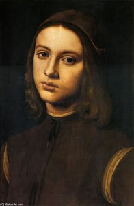 Pietro Vannucci - Portrait of a young man