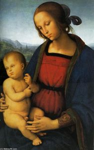 Vannucci Pietro (Le Perugin) - Madonna with Child