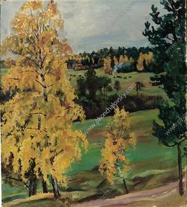 Pyotr Konchalovsky - Autumn. Yellow wood.