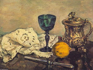 Pyotr Konchalovsky - Still Life. The green glass.