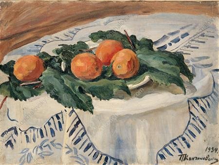 Still Life. Oranges., 1934 by Pyotr Konchalovsky (1876-1956, Russia) | Oil Painting | WahooArt.com