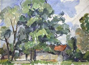 Pyotr Konchalovsky - At the barn