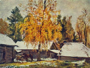 Pyotr Konchalovsky - First Snow