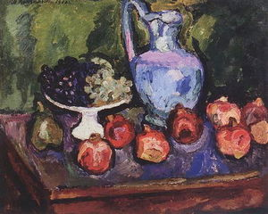 Pyotr Konchalovsky - Still Life. Fruits.