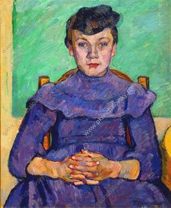 Pyotr Konchalovsky - Girl from Arles
