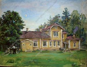 Pyotr Konchalovsky - House in Knobs