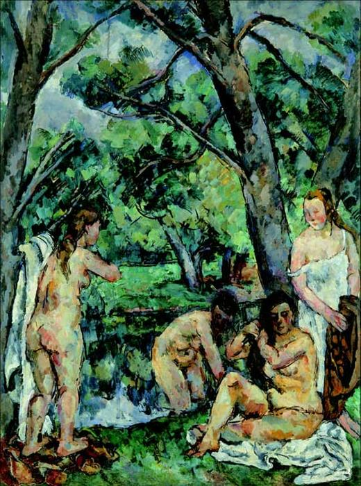 Bathers by Pyotr Konchalovsky (1876-1956, Russia) | Art Reproduction | WahooArt.com