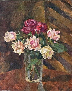 Pyotr Konchalovsky - Roses in a glass