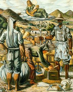 Rafael Zabaleta Fuentes - Reapers in the age and Ceres