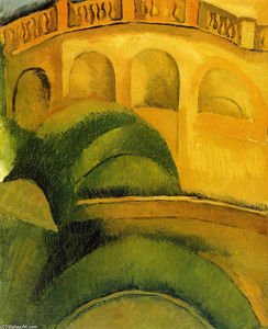 Raoul Dufy - Arcades at L-Estaque