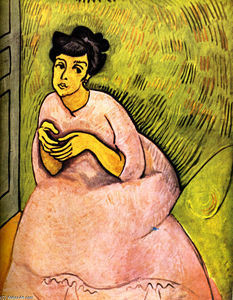 Raoul Dufy - The Woman in Pink