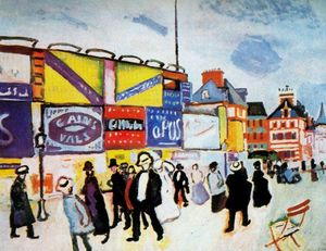 Raoul Dufy - Posters at Trouville