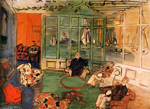 Raoul Dufy - The nautical Club with Cowes