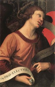 Raphael (Raffaello Sanzio Da Urbino) - Angel, from the polyptych of St. Nicolas of Tolentino