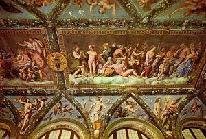 Raphael (Raffaello Sanzio Da Urbino) - Ceiling of the Loggia of Psyche