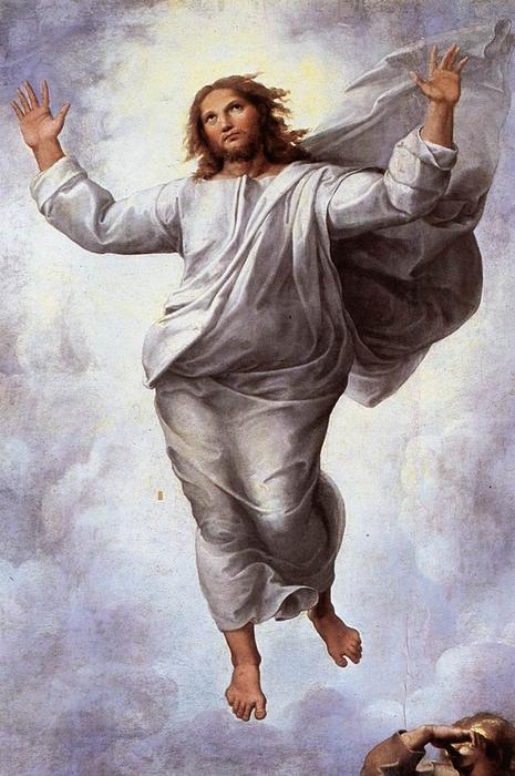 The Transfiguration (detail), Oil On Panel by Raphael (Raffaello Sanzio Da Urbino) (1483-1520, Italy)