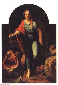 Raphael (Raffaello Sanzio Da Urbino) - The Serpent - The Cross