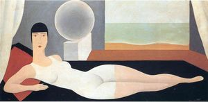 Rene Magritte - Bather