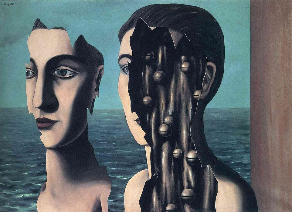 The double secret, 1927 by Rene Magritte (1898-1967, Belgium) |  | WahooArt.com