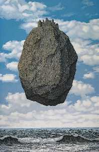 Rene Magritte - The Castle of the Pyrenees