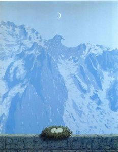 Rene Magritte - The domain of Arnheim