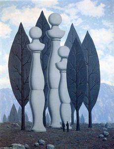 Rene Magritte - The art of conversation