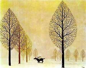 Rene Magritte - The lost jockey
