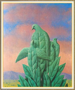 Rene Magritte - The natural graces