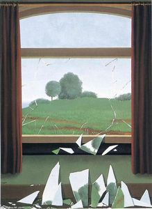 Rene Magritte - The Key to the Fields