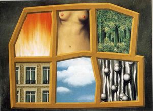 Rene Magritte - The six elements