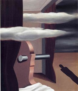 Rene Magritte - The catapult of desert